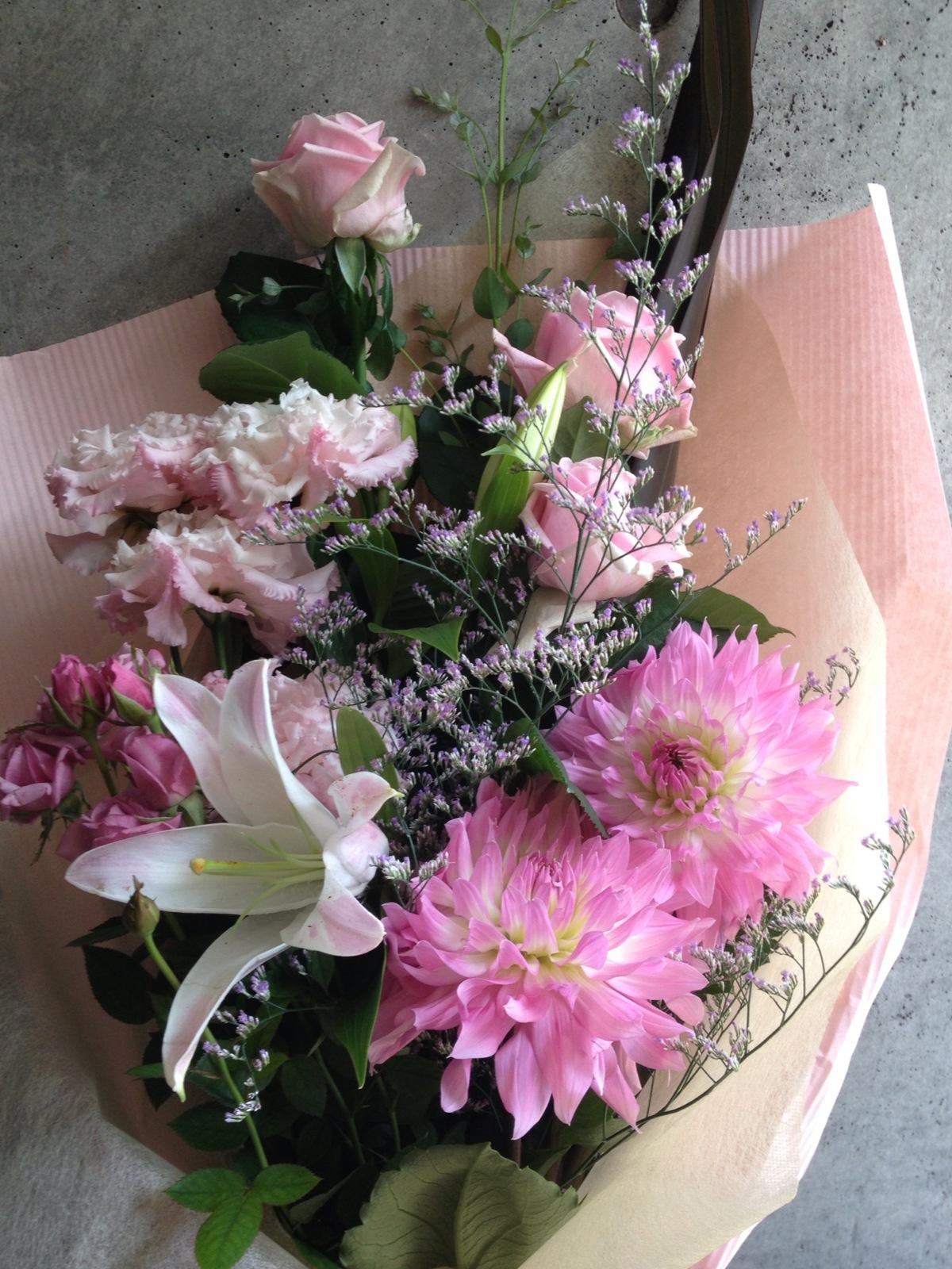花葉 花束